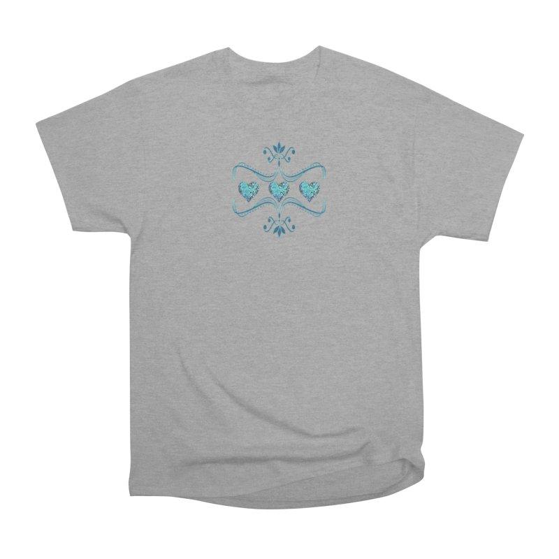 Sea Scape Acrylic Flow Men's Classic T-Shirt by Creations of Joy's Artist Shop