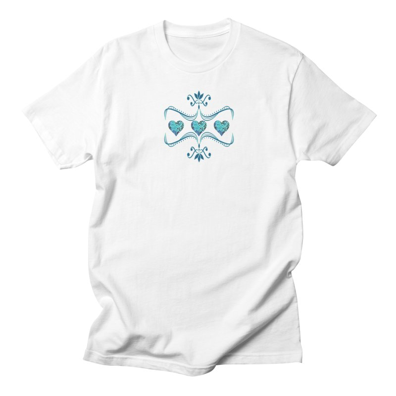 Sea Scape Acrylic Flow Women's Regular Unisex T-Shirt by Creations of Joy's Artist Shop