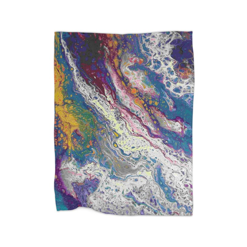 Majestic Home Fleece Blanket Blanket by Creations of Joy's Artist Shop