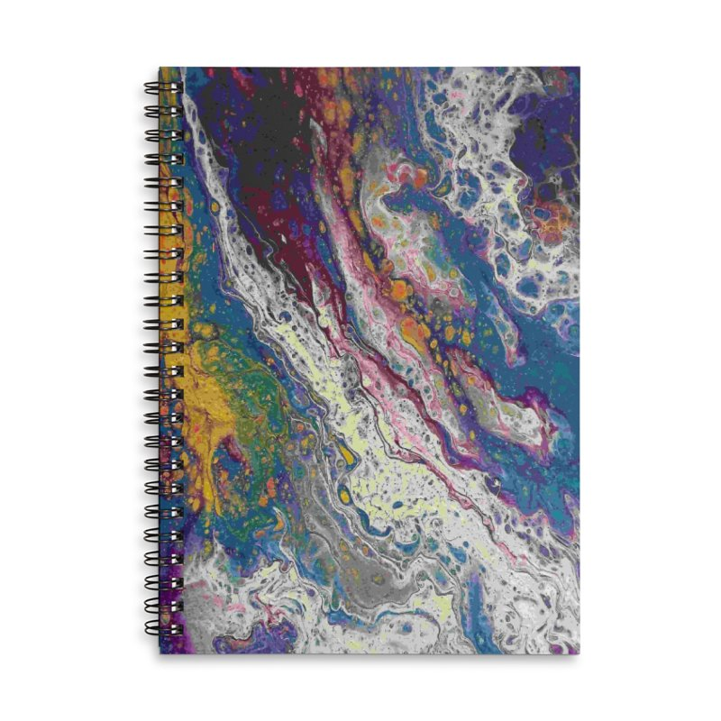 Majestic Accessories Lined Spiral Notebook by Creations of Joy's Artist Shop