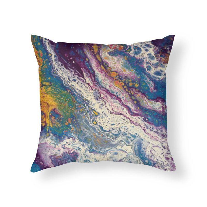 Majestic Home Throw Pillow by Creations of Joy's Artist Shop