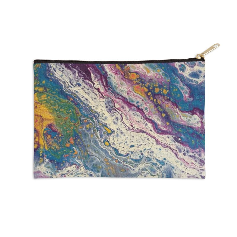 Majestic Accessories Zip Pouch by Creations of Joy's Artist Shop