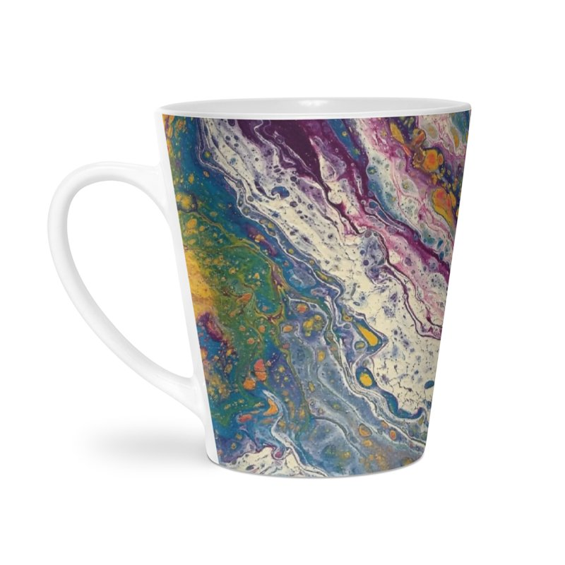 Majestic Accessories Latte Mug by Creations of Joy's Artist Shop