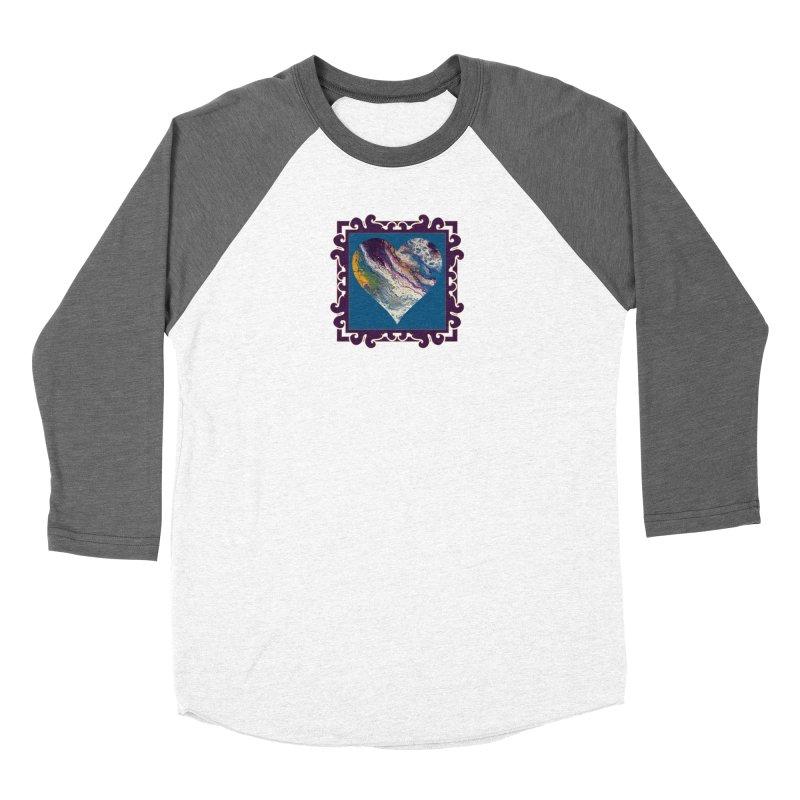 Majestic Women's Baseball Triblend Longsleeve T-Shirt by Creations of Joy's Artist Shop