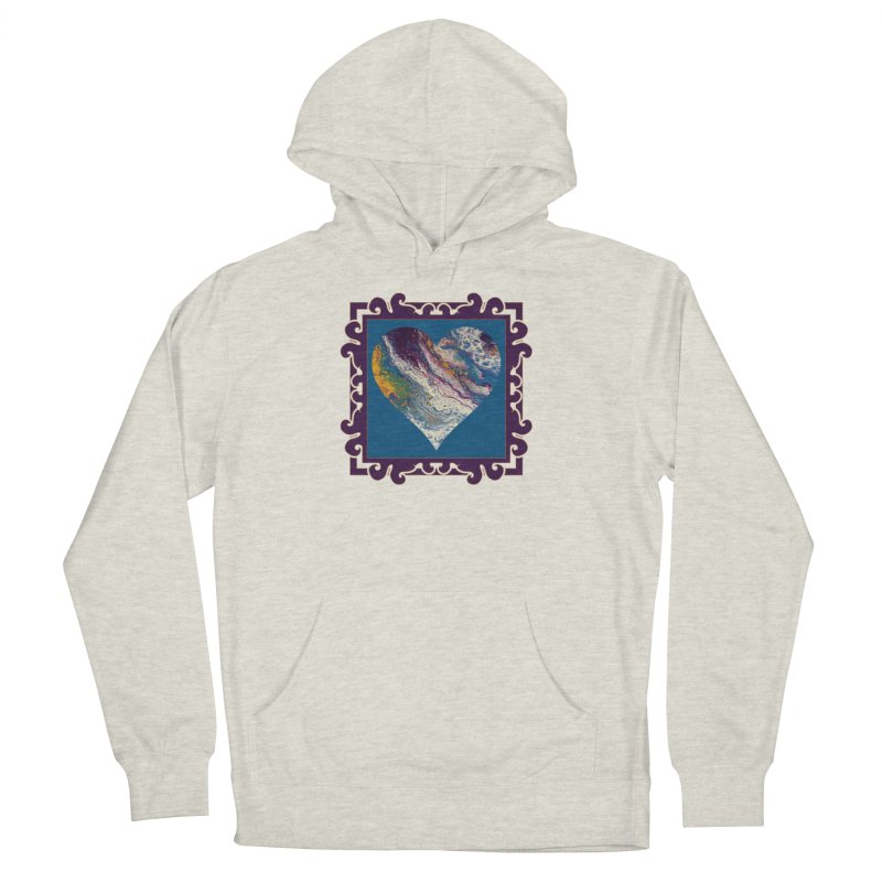 Majestic Men's French Terry Pullover Hoody by Creations of Joy's Artist Shop