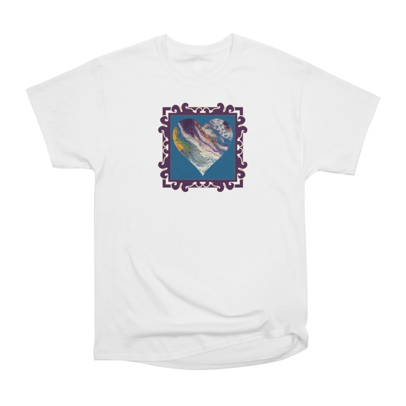 Majestic Men's Heavyweight T-Shirt by Creations of Joy's Artist Shop