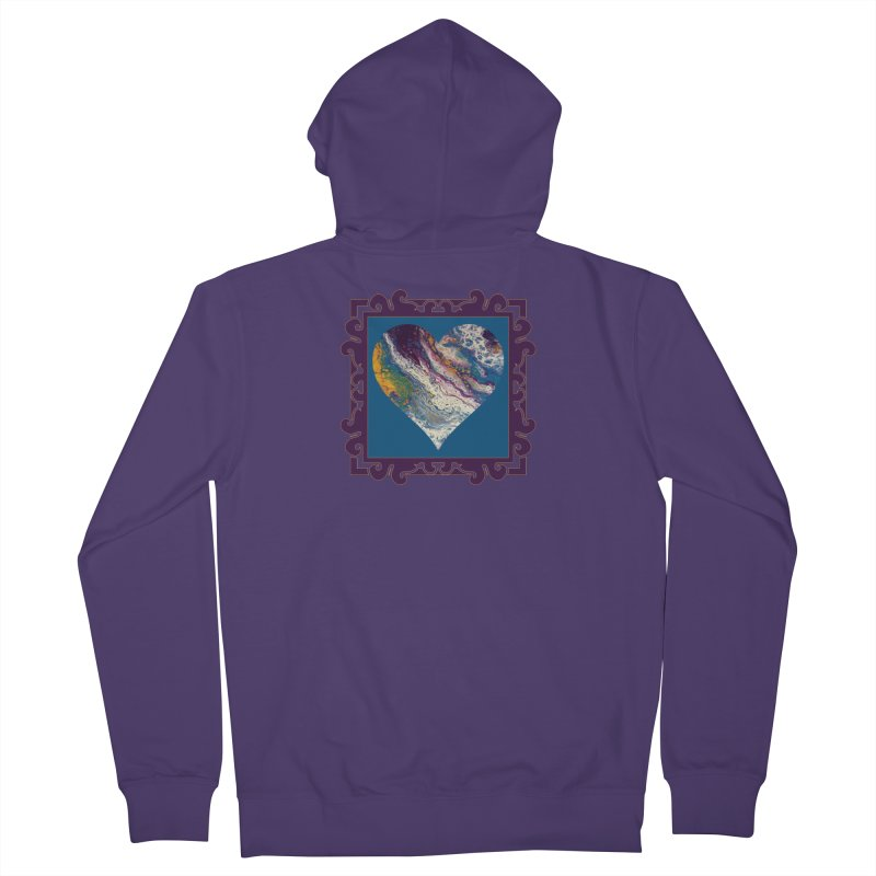 Majestic Women's French Terry Zip-Up Hoody by Creations of Joy's Artist Shop