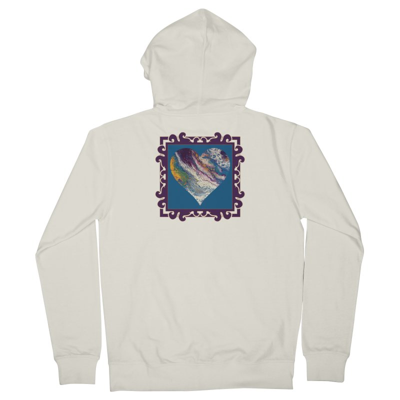 Majestic Men's French Terry Zip-Up Hoody by Creations of Joy's Artist Shop