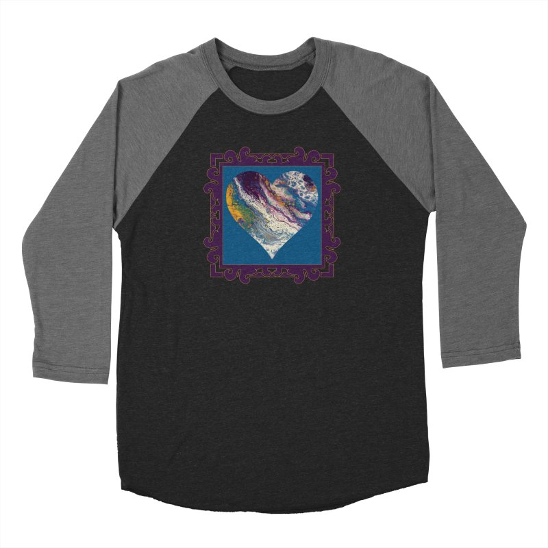 Majestic Women's Baseball Triblend Longsleeve T-Shirt by Creations of Joy's Artist Shop