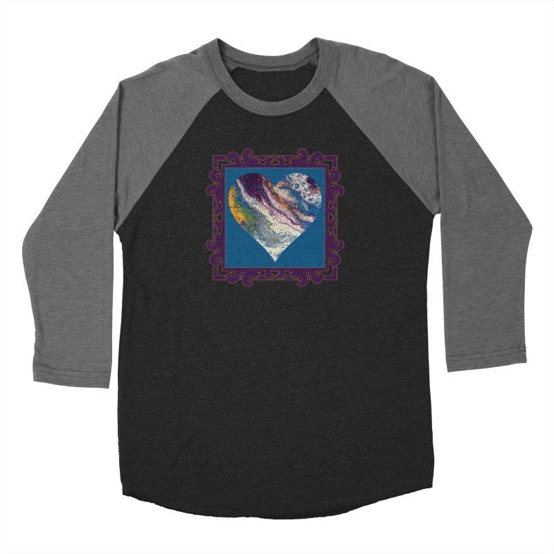 Majestic Men's Baseball Triblend Longsleeve T-Shirt by Creations of Joy's Artist Shop