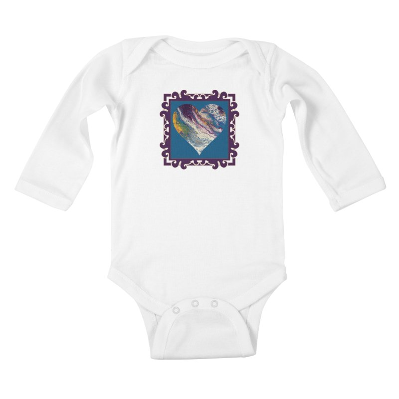 Majestic Kids Baby Longsleeve Bodysuit by Creations of Joy's Artist Shop