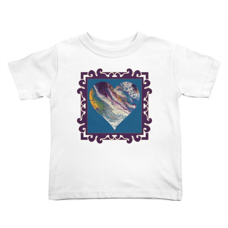 Majestic Kids Toddler T-Shirt by Creations of Joy's Artist Shop