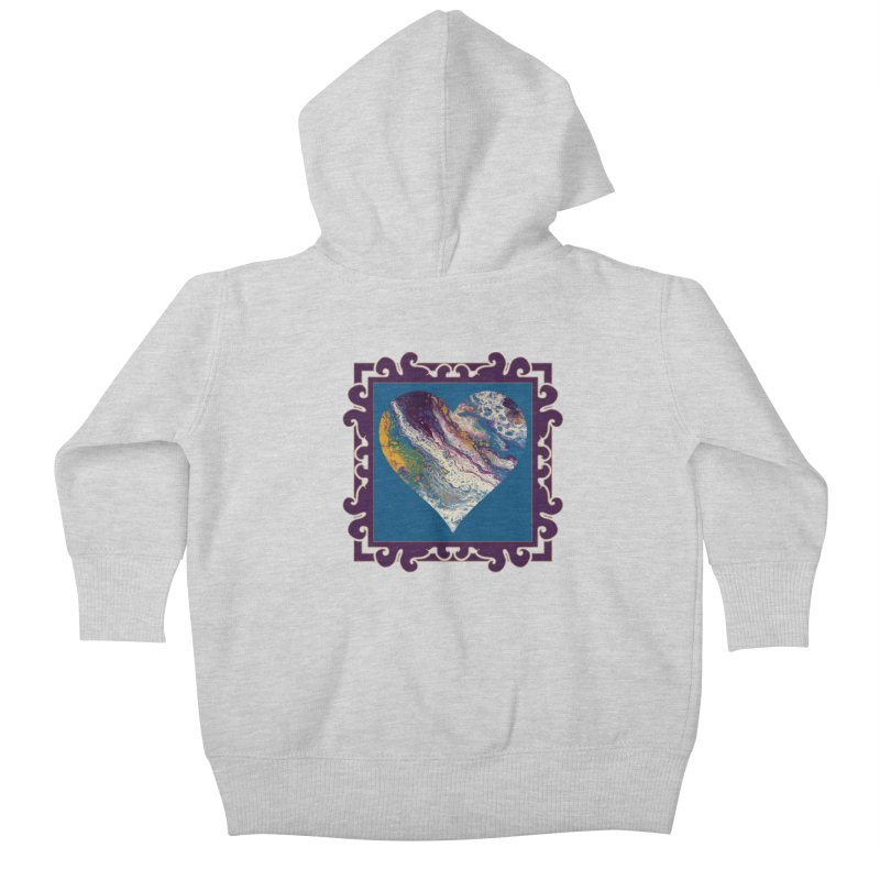 Majestic Kids Baby Zip-Up Hoody by Creations of Joy's Artist Shop