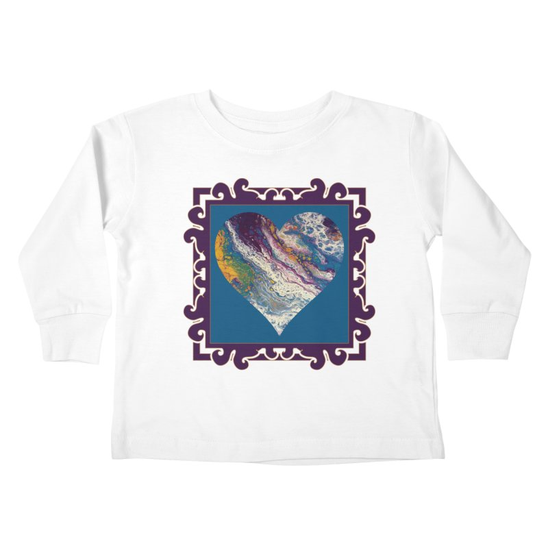 Majestic Kids Toddler Longsleeve T-Shirt by Creations of Joy's Artist Shop