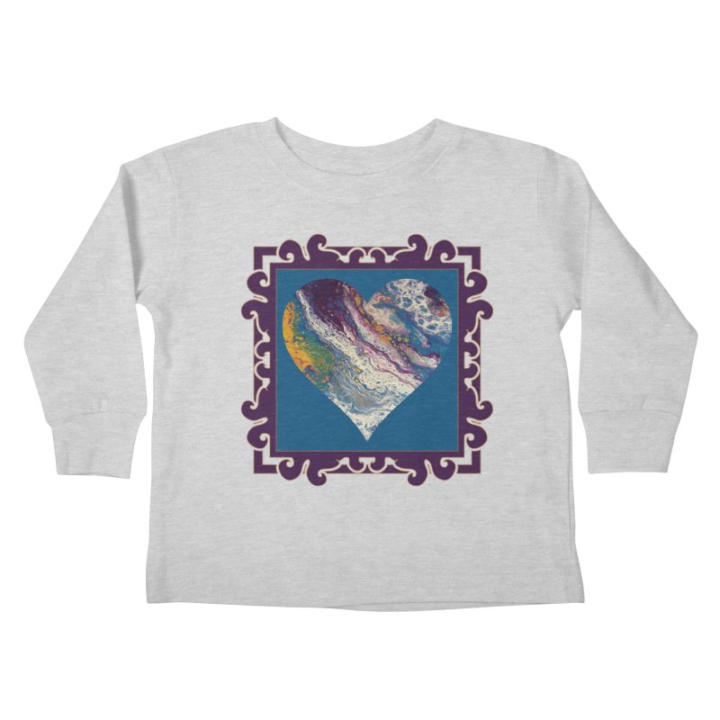 Majestic Kids Toddler Longsleeve T-Shirt by Creations of Joy's Artist Shop