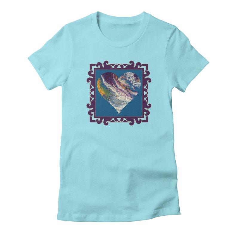 Majestic Women's Fitted T-Shirt by Creations of Joy's Artist Shop