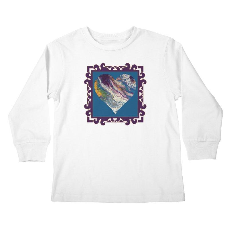 Majestic Kids Longsleeve T-Shirt by Creations of Joy's Artist Shop