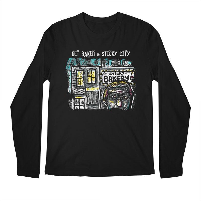 GET BAKED! Men's Longsleeve T-Shirt by creativebloch.com