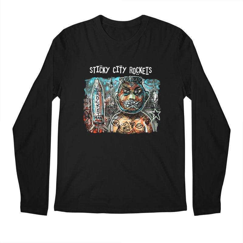 LITTLE ROCKETMAN Men's Longsleeve T-Shirt by creativebloch.com