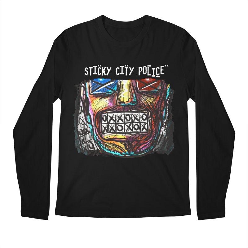 TIC TAC TEETH Men's Longsleeve T-Shirt by creativebloch.com