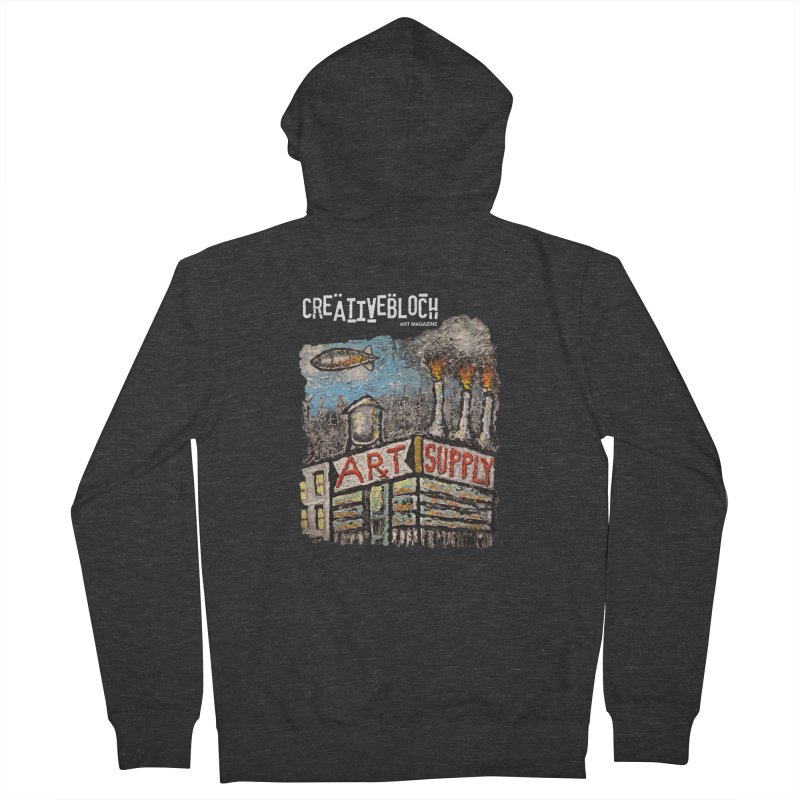ART SUPPLY Men's Zip-Up Hoody by creativebloch.com