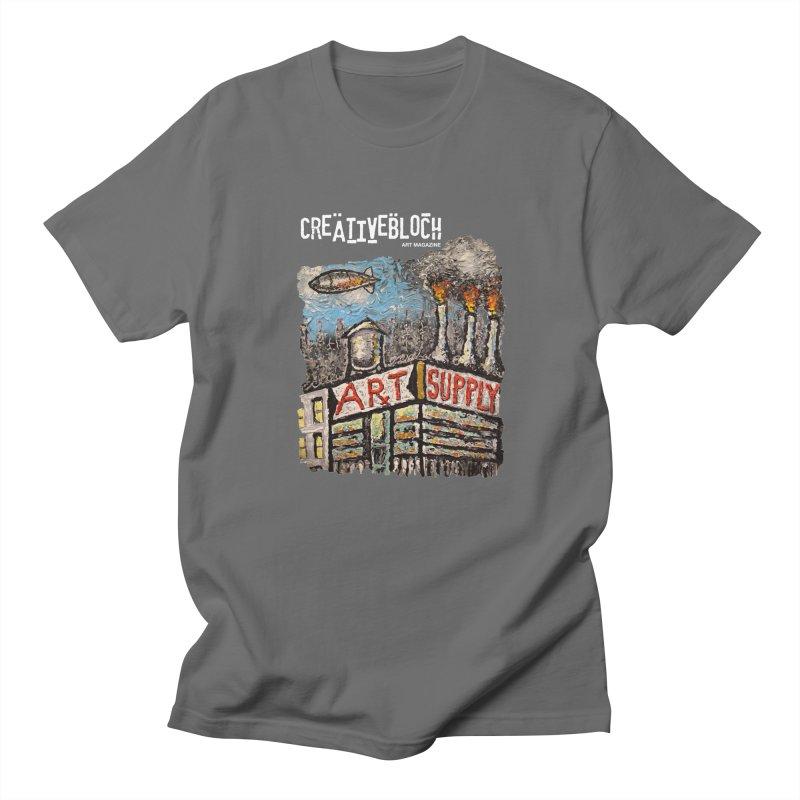 ART SUPPLY Men's T-Shirt by creativebloch.com
