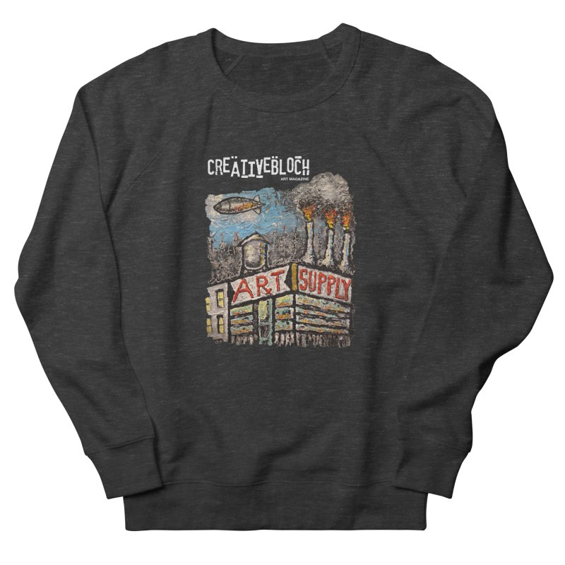 ART SUPPLY Men's Sweatshirt by creativebloch.com