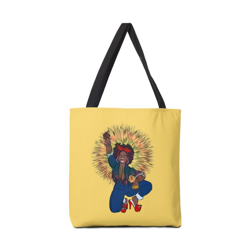 Black Woman's Roar Accessories Bag by The Shop of Creative Ether