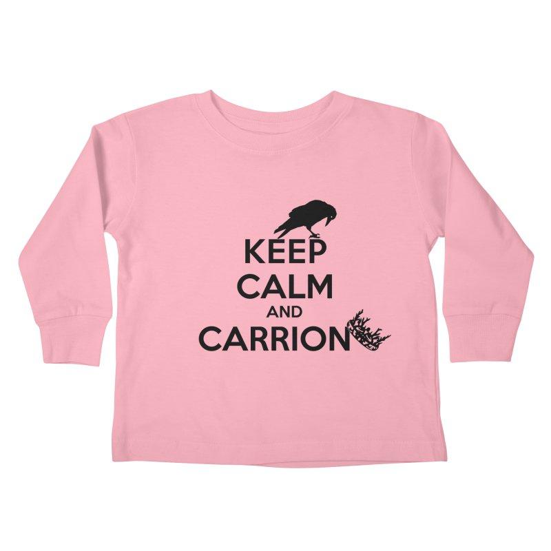 Keep calm and carrion Kids Toddler Longsleeve T-Shirt by creativehack's Artist Shop