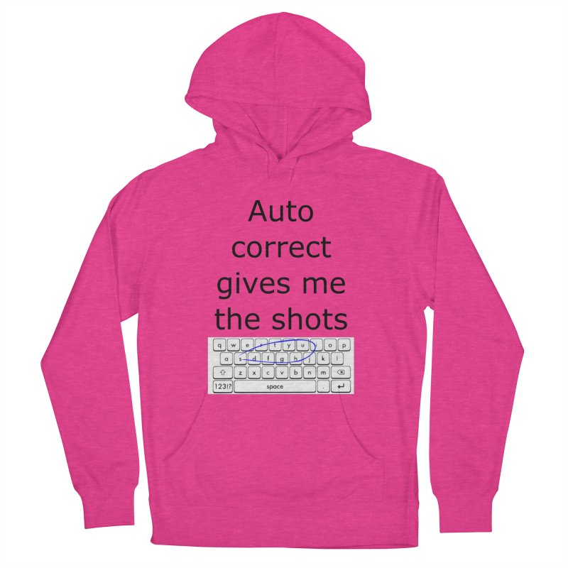 Auto correct Women's Pullover Hoody by creativehack's Artist Shop