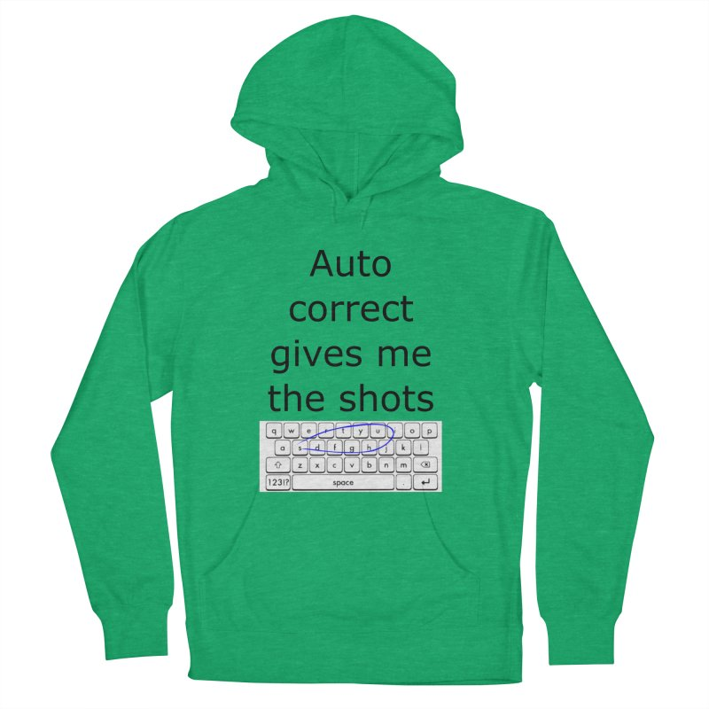Auto correct Men's Pullover Hoody by creativehack's Artist Shop