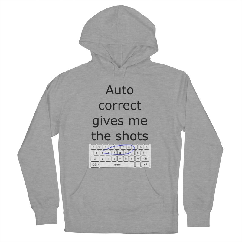 Auto correct Men's Pullover Hoody by creativehack's Artist Shop