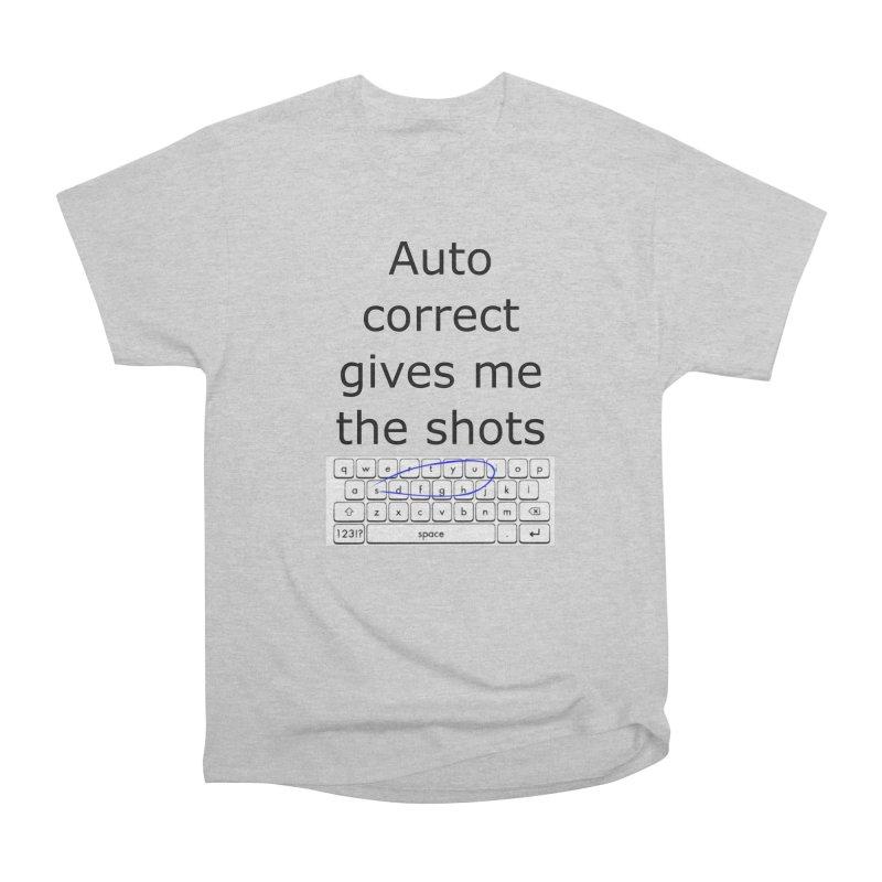 Auto correct Women's Classic Unisex T-Shirt by creativehack's Artist Shop