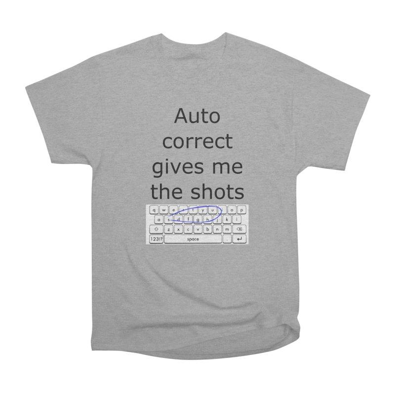 Auto correct Men's Classic T-Shirt by creativehack's Artist Shop