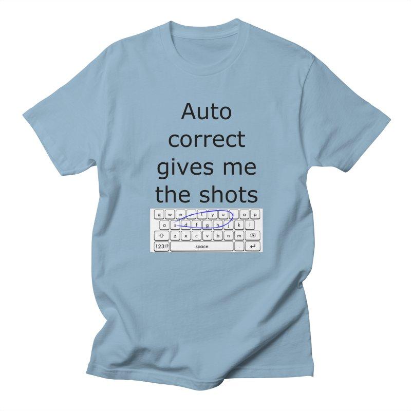 Auto correct Men's T-Shirt by creativehack's Artist Shop