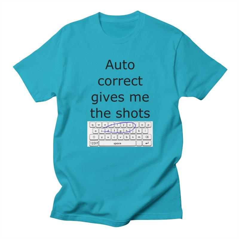 Auto correct Women's Unisex T-Shirt by creativehack's Artist Shop