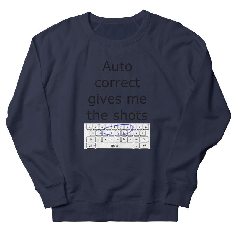 Auto correct Men's Sweatshirt by creativehack's Artist Shop
