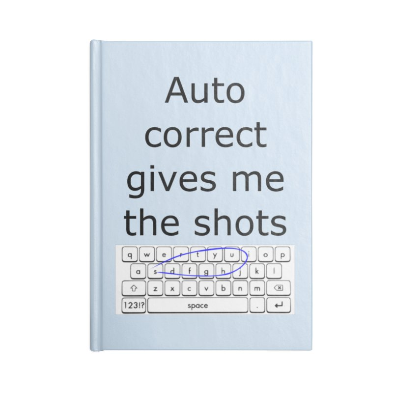 Auto correct Accessories Notebook by creativehack's Artist Shop