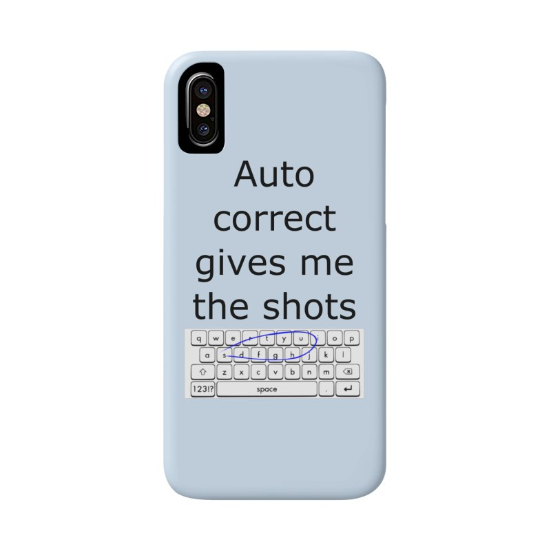 Auto correct Accessories Phone Case by creativehack's Artist Shop