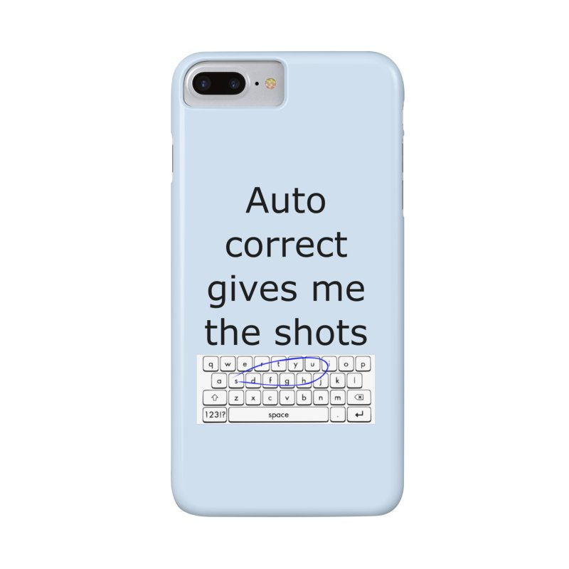 Auto correct Accessories Phone Case by creativehack's Artist Shop
