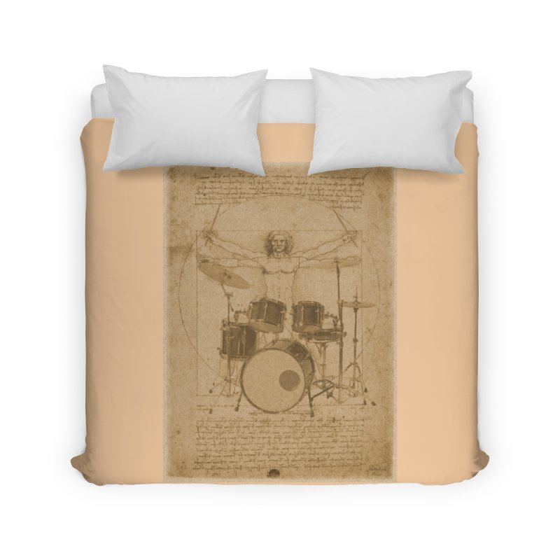 Vitruvius Percussionus Home Duvet by creativehack's Artist Shop