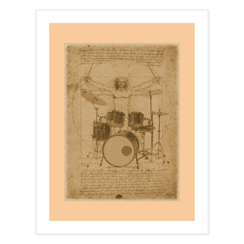 Vitruvius Percussionus Home Fine Art Print by creativehack's Artist Shop