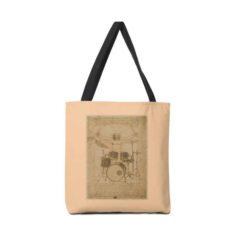 Vitruvius Percussionus Accessories Bag by creativehack's Artist Shop