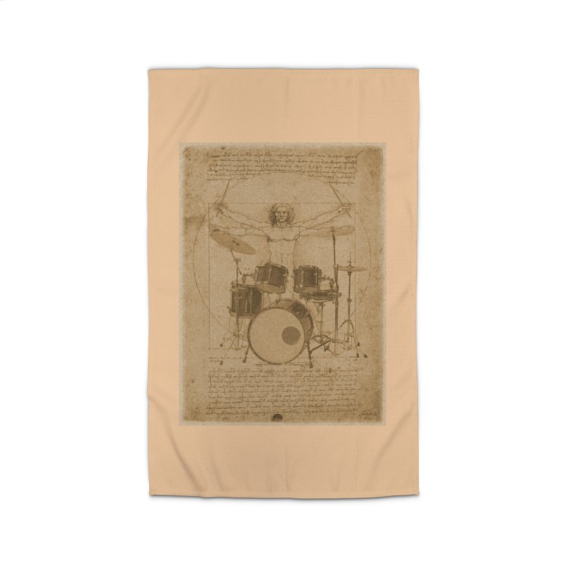 Vitruvius Percussionus Home Rug by creativehack's Artist Shop
