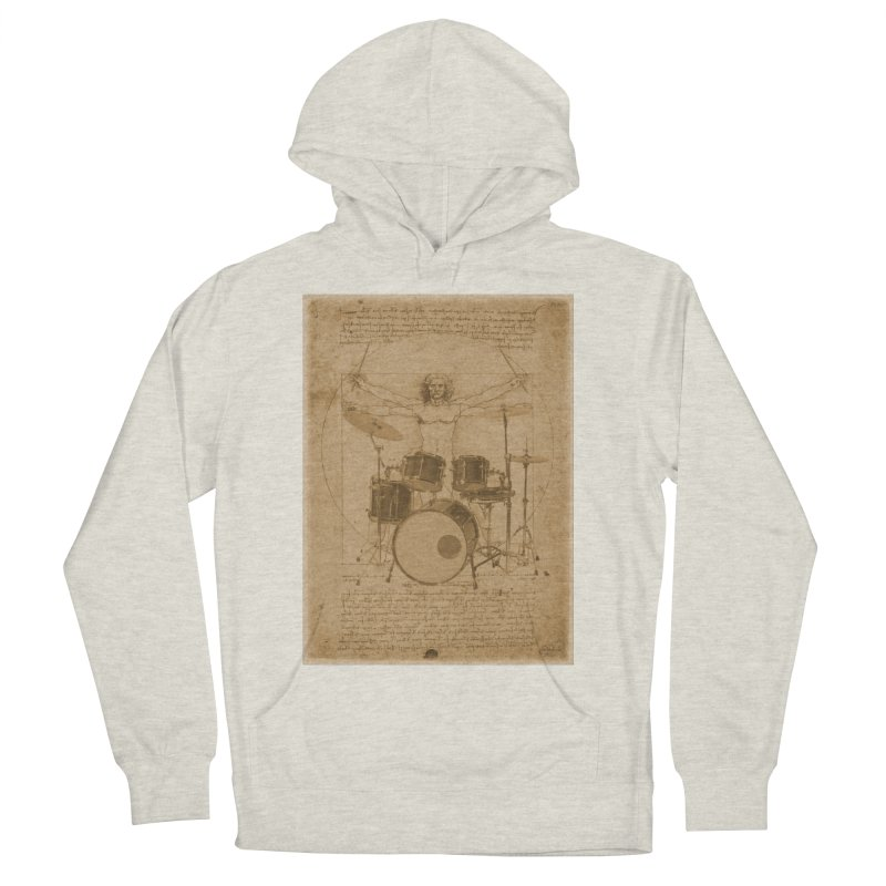 Vitruvius Percussionus Women's Pullover Hoody by creativehack's Artist Shop
