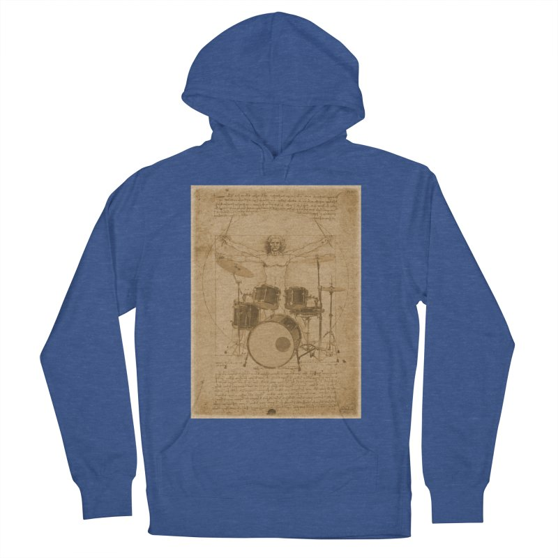 Vitruvius Percussionus Men's Pullover Hoody by creativehack's Artist Shop