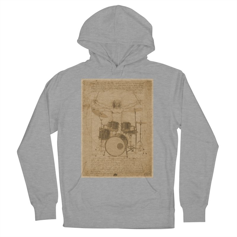 Vitruvius Percussionus Men's Pullover Hoody by creativehack's Artist Shop