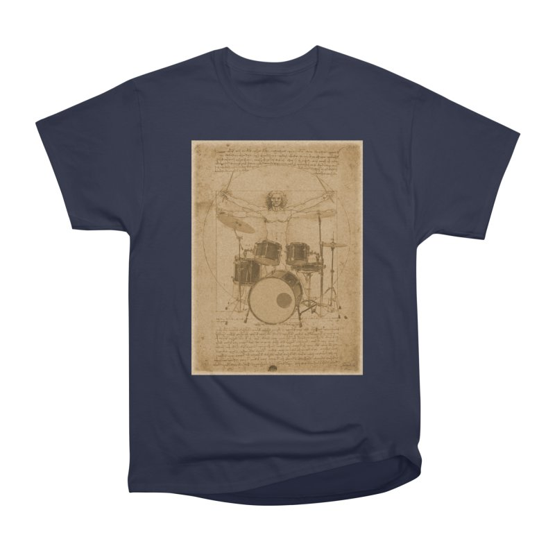 Vitruvius Percussionus Women's Classic Unisex T-Shirt by creativehack's Artist Shop