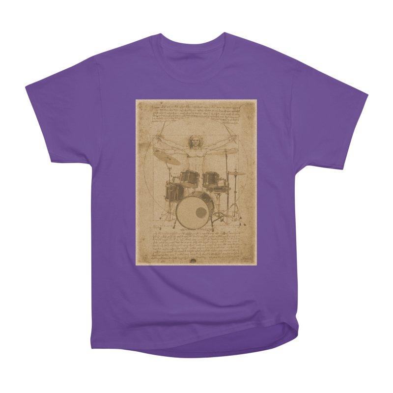 Vitruvius Percussionus Men's Heavyweight T-Shirt by creativehack's Artist Shop
