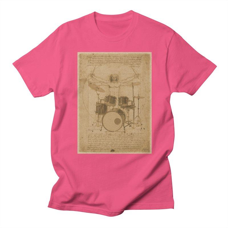 Vitruvius Percussionus Women's Unisex T-Shirt by creativehack's Artist Shop